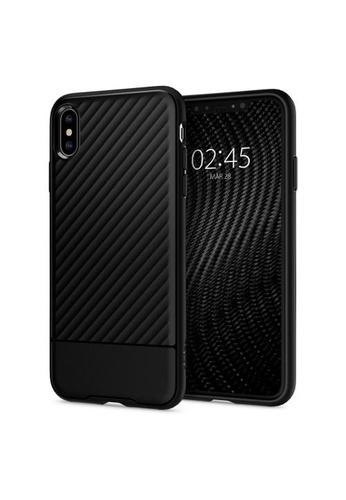 Spigen black Spigen Core Armor Case for Apple iPhone XS Max - Black 2973EES779D4C0GS_1