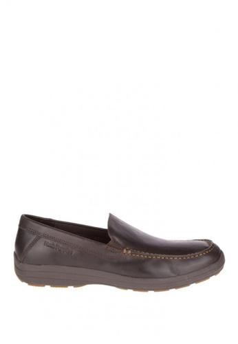 Hush Puppies brown Brevis Patterson Casual Shoes HU326SH0KMQOPH_1