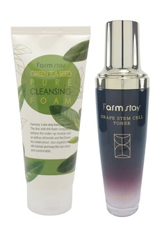Basic Cleansing Set for Acne-Prone Skin