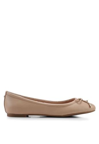 ALDO 米褐色 Unelamma 平底鞋 9C68DSHDAFF357GS_1