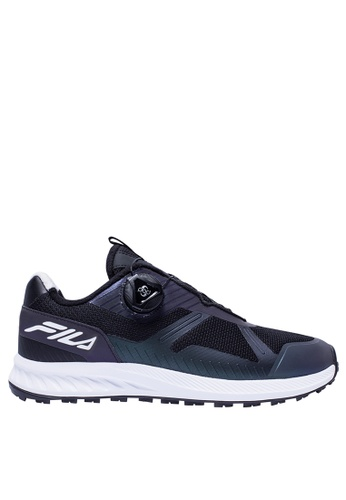 FILA black White Line Sport Shoes 8E553SHC41EAC1GS_1