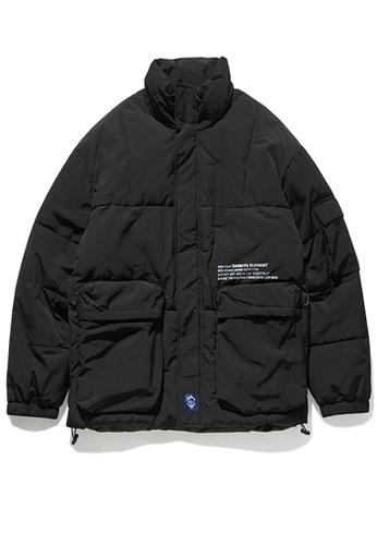 Twenty Eight Shoes black Street Style Thickened Warm Coat 9755W E7118AAF23ADCCGS_1