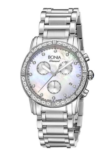 BONIA white and silver Jam Tangan Bonia Jam Tangan Wanita B999-2357LE Original BFC7DAC3DF7FF4GS_1