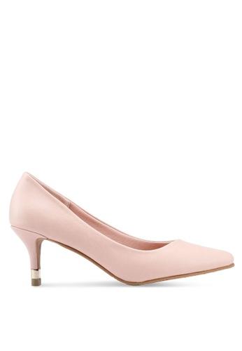 7d0f31c6ecc8 VINCCI pink Round Toe Heels C789FSH157994EGS 1