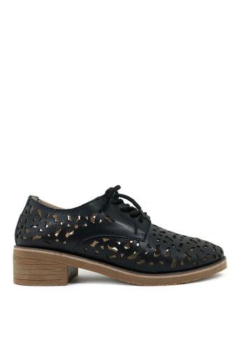 Carlo Rino black Black Lace-up Sneakers 86B01SH211E87BGS_1