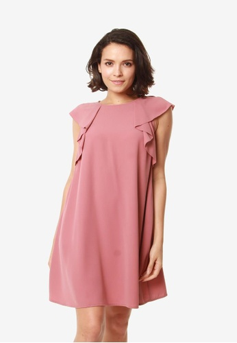 Bove by Spring Maternity pink Eugenia Dress Dusty Pink 25367AAF1F8FACGS_1