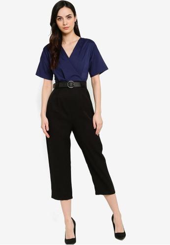 ZALORA WORK multi Kimono Sleeve Jumpsuit B0DC8AA1A27336GS_1