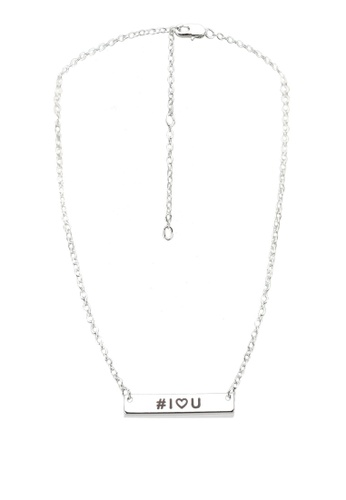Pieces silver Malikka Necklace With Giftcard Box 9117BACF80C3EEGS_1