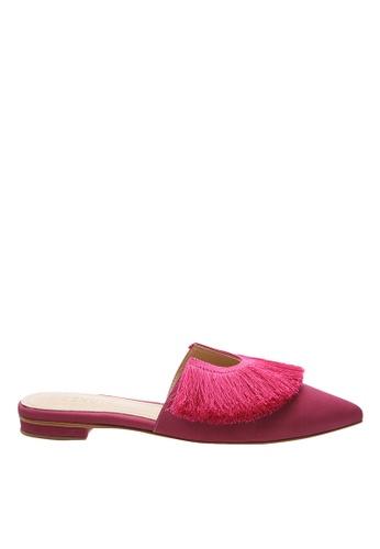 SCHUTZ pink True Pink Flat Mule - BRANDY [TRUE PINK] 2136BSH211FB3EGS_1