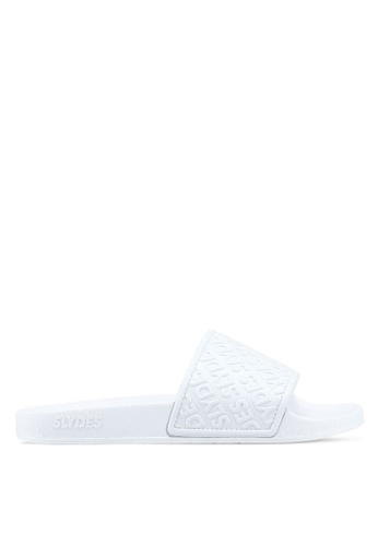 Slydes white Chance Sandals CE4A4SH0A7B38BGS_1