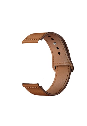 Kings Collection Light Brown Genuine Leather Apple Watch Band 38MM / 40MM (KCWATCH1021) A67BDAC6E5D7F6GS_1