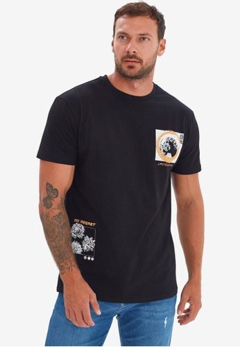 Trendyol black Printed T-Shirt A4515AA0013DE1GS_1