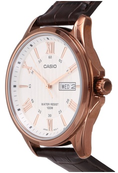 112132424b34 25% OFF Casio Casio Enticer Analog White Dial Watch RM 315.00 NOW RM 237.00 Sizes  One Size