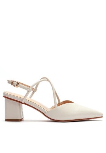 Twenty Eight Shoes 尖頭皮革高踭鞋053-12 8B76CSH78644A9GS_1