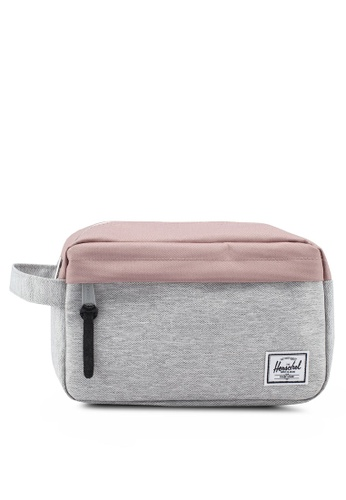 Herschel grey Chapter Carry On Pouch 34DA9ACCC57214GS_1