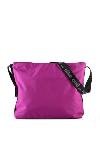 niko and ... purple CORDURA® Crossbody Bag F457AACB3F4DB6GS_1