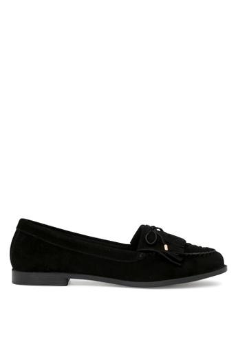 London Rag 黑色 LONDON RAG 女式黑色圆头休闲鞋 SH1634 7B9ECSHCFD537CGS_1