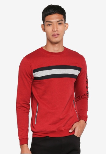 Marc & Giselle red Long Sleeve Sweater 1D5D5AABEBBABEGS_1