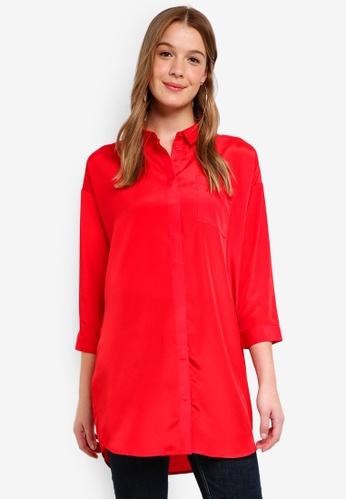 Modstrom red Jex Shirt 3FFADAAB38EC17GS_1