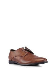 9a2ec5a26cf5cc Burton Menswear London Tan Bryer Derby Shoes RM 209.00. Sizes 6 7 8 9