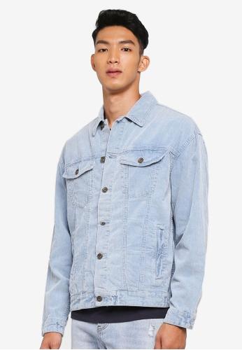 Cotton On 藍色 休閒牛仔外套 43536AA872AB0EGS_1