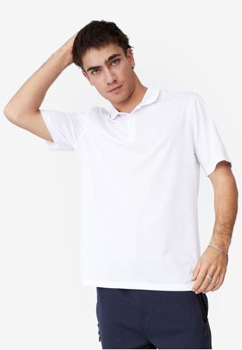 Cotton On 白色 Active 短袖Polo 襯衫 0B46FAA005BE8FGS_1