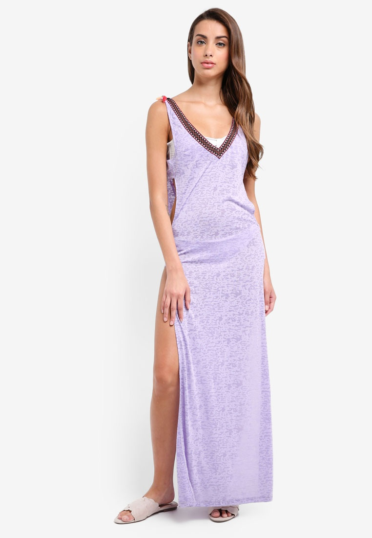 Island Cover Jersey Purple River Maxi Up P6qHwB