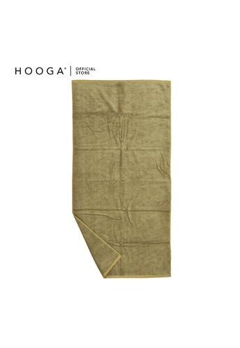 HOOGA brown Hooga Bath Towel Lind. 991E5HLECCC3E2GS_1
