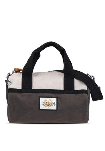 Kipling brown and multi and beige Quan Handbag C6B61ACA1909B8GS_1