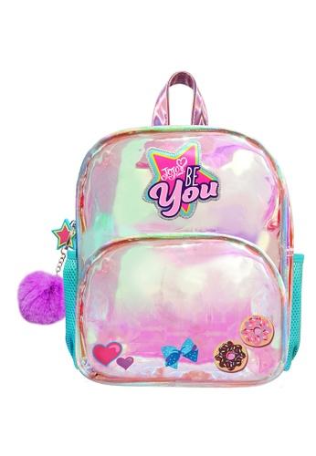 Jojo Siwa purple Jojo Siwa Holographic Kids Backpack (10-inch) FFA84KC8330274GS_1