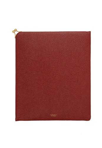 Enjoybag Matilda`s Italian Cowhide Leather Tablet Case EN763AC65JGKHK_1