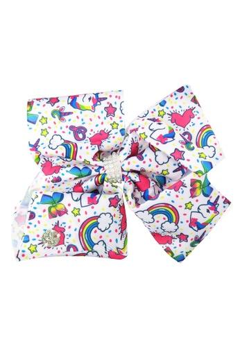 Jojo Siwa white Jojo Siwa Bow With Clip (White Unicorn) 49AECKCD209B5CGS_1