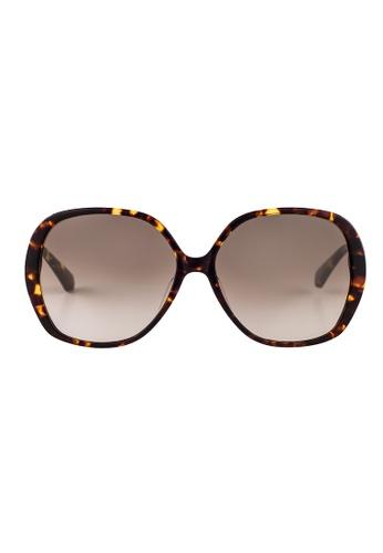 Kate Spade brown Kate Spade Atalina Tortoise Sunglasses 086HA KA433AC57JSSMY_1