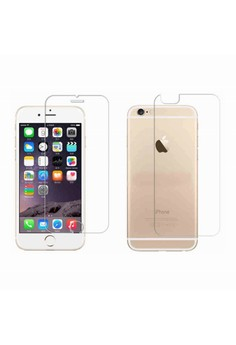 Premium Tempered Glass Screen Protector Front and Back for Apple iPhone 6s Plus