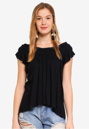 Free People black Coconut Tee EF99AAA8C337DAGS_1