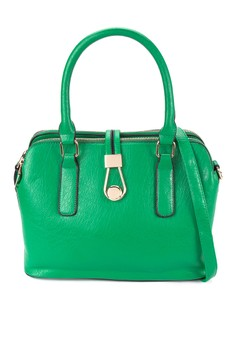 Charlotte Structured Shoulder Bag