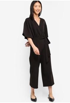 57e3ea3db9 20% OFF ZALORA BASICS Basic Kimono Jumpsuit S  39.90 NOW S  31.90 Sizes XS  S M L XL