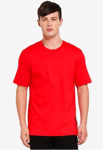 Calvin Klein 紅色 Retro Tee - Calvin Klein Performance FD2A0AA1E5478DGS_1