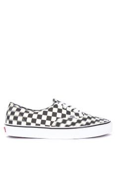 f74ad7654f81 VANS multi Blur Checkered Authentic Sneakers 1BDCESHDDF73A6GS 1