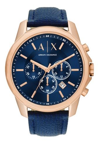 Armani Exchange blue Watch AX1723 A9A3BAC0911E44GS_1