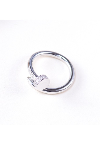 A-Excellence silver Premium S925 Sliver Nail Ring B87DFACCFF2FEAGS_1