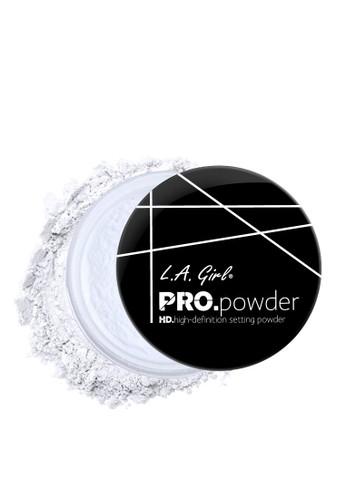 L.A Girl white LA Girl Pro Setting Powder Translucent 316DEBE3A0A3A5GS_1