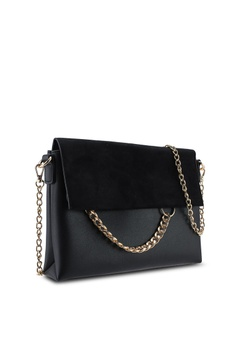 d678c6624c 20% OFF Dorothy Perkins Black Chain Ring Clutch Bag RM 99.00 NOW RM 78.90  Sizes One Size