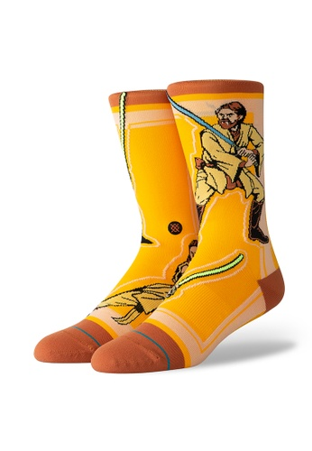 STANCE yellow STANCE Socks Yellow Star Wars Jedi Large 9B3EAAA1B6A945GS_1