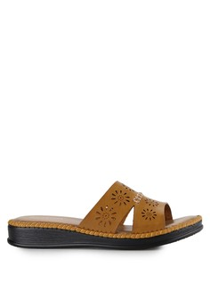 BETTINA brown Sandals Lavender BE073SH0UDUVID_1