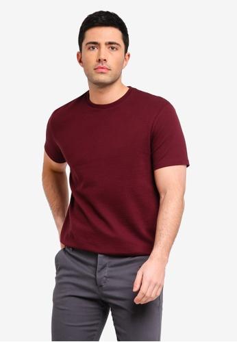 Topman 紅色 短袖T恤 0E05DAAC7A169EGS_1