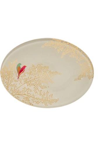 Sara Miller white Sara Miller London Soap & Acc Dish - White Birds (FG8532) 7E925BEF3AE099GS_1