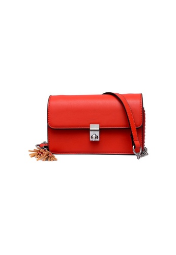 Lara red Women's Red Crossbody Bag 82C0AAC57F5527GS_1