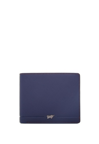 Braun Buffel navy Craig-C Centre Flap Cards Wallet EE025ACEFB7544GS_1