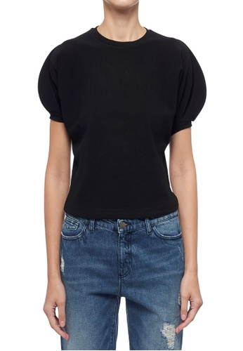ck Calvin Klein 黑色 重質感蓬鬆上衣 1FB4AAA6347F58GS_1